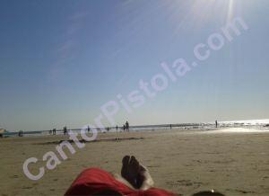 Playa de Del Mar, California verano boreal 2012
