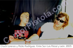 Chachi Lorenzo y Pablo Rodríguez, 2003