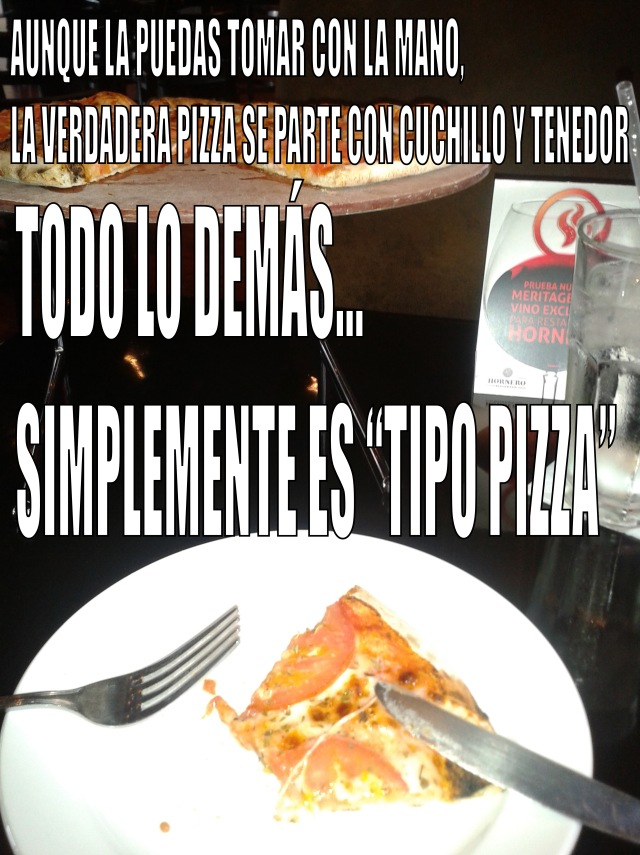 pizza de Hornero - Tijuana